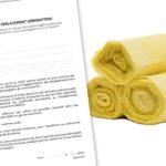 Sacs jaunes et attestations de déplacement
