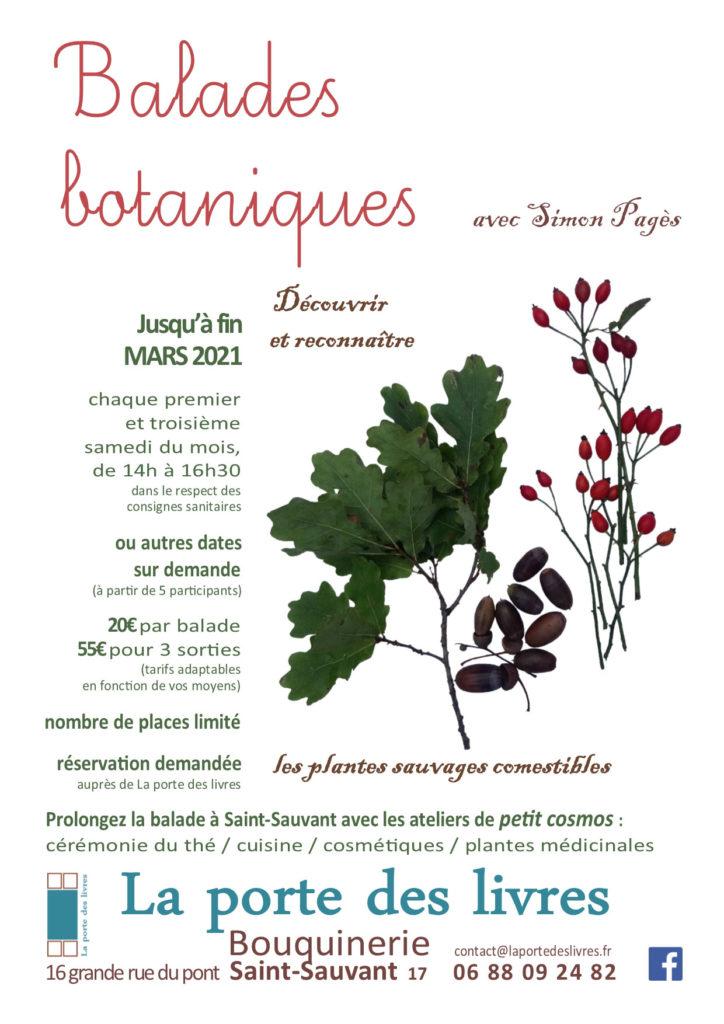 """Balade botanique """"Les plantes sauvages comestibles"""" @ La Porte des Livres"""